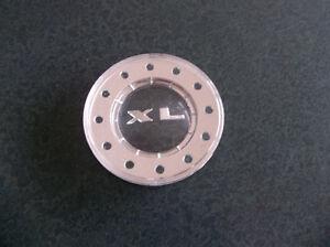 1963 1964 Galaxie 500 XL NOS center emblem & chrome horn ring