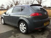 2008 DSG DIESEL SEAT LEON 2.0 TDI 1 OWNER FROM NEW FULL DEALERS HISTORY NOT FR GTI S3 A3 K1 BMW 320D