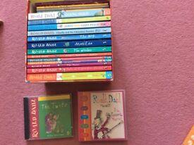 Roald Dahl books and cds