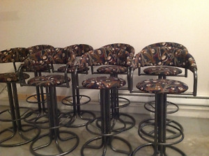 Bar stools for pool table room