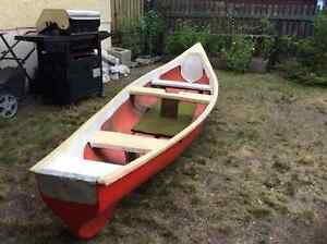 Fiberglass canoe for sale