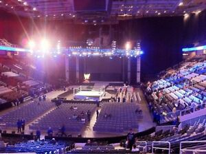 WWE Smackdown FRONT ROW RINGSIDE tickets - Ottawa November 22nd