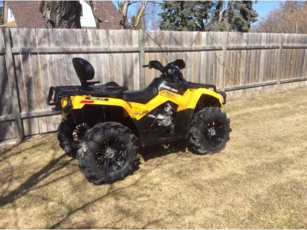Used 2009 Can-Am outlander max xt