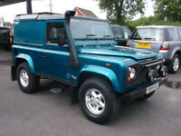 2000(X) Land Rover 90 Defender 2.5Td5 County Hard Top