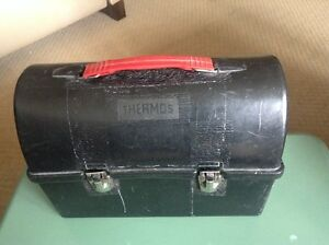 Vintage Thermos Plastic Lunch Box - Tool