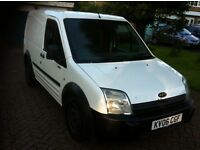 2006 ford transit connect 1.8tdci l200 swb mot till may 2017 in good condition with security lock