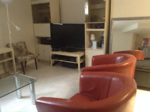 Sous sol  a louer a Dorion Furnished basement for rent in Dorion