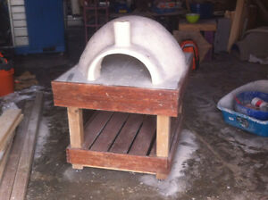 Large fire pizza oven