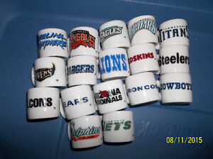 Mini NFL Football cups Windsor Region Ontario image 2