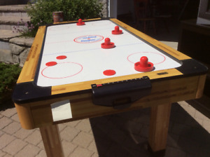 Table d'hockey sur air