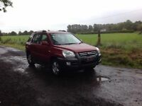 24/7 Trade sales NI Trade Prices for the public 2006 Kia Sportage 2.0 CRDI XE Full mot