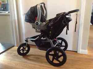 Used Car Seat, 2 Car Seat Bases & Stroller