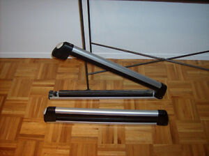 supports rack skis thule