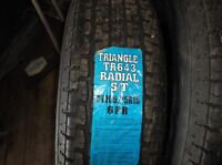 4 new trailer tires 205/15R15