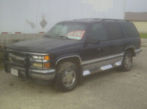 Priced For Quick Sale-1998 Chevy Tahoe-Many Many Many New Parts