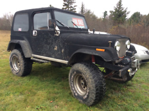 FS.   1980 Jeep CJ7.  V8