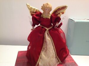 ANGEL TREE TOPPER with Light