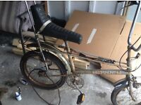 Wanted old 1970s chopper bikes