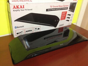 CLEARANCE SALE-AKAI SOUND PLATE BLUTOOTH--WITH -Warranty-$49.99
