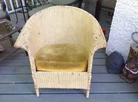 Vintage Wicker chair 1910-1941