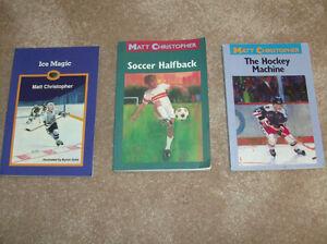 3 Matt Chistopher-action-sports novels London Ontario image 1