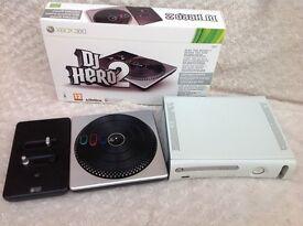 Xbox + DJ HERO Deck