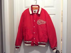 Vintage Detroit Redwings Nylon Jacket.