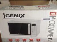 IGENIX 20L microwave RRP ��73.40 ( brand new boxed item)