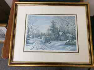 Peter Robson Framed Limited Edition Lithographs Sarnia Sarnia Area image 1