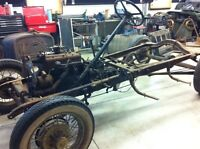 Model A Rolling Chassis Frame 1928 1929 1930 1931