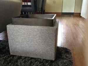 Urban Barn Tray Top Ottoman/Side Table