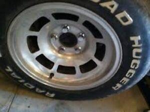 1980 corvette aluminum wheels and tires