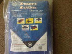 2 - Heavy duty tarps