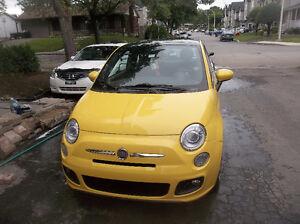 2012 Fiat 500 SPORT AUTOMATIQUE  TOIT PANORAMIQUE  IMPECABLE.