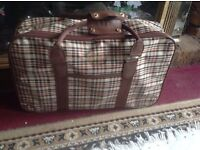 Small hand luggage brown-beige used £4