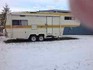 27' 5th wheel trailer, double axle