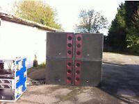 "Void acoustics bass bins 21"""