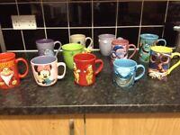 11 Large Disney Mugs