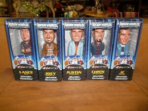 set of 5 Collectors edition NSYNC BOBBLEHEADS
