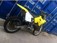 Rm 125 roadlegal not cr crf Yzf yz kx kxf