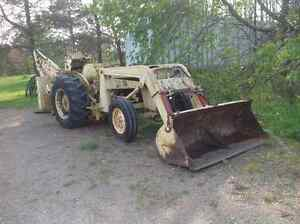 front end loader and bucket