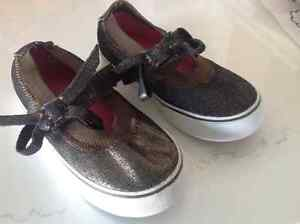 Brand New Girl's Size 10.5 Sparkly Suede Mary Jane StyleSneakers