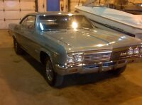1966 Impala SS 427 4 speed