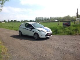 24/7 Trade sales NI Trade Prices for the public 2010 Ford Fiesta 1.4 TDCI Base Van No Vat