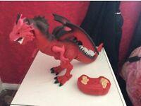Remote control dragon