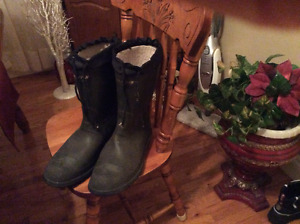 Lined HardToed Rubberboots