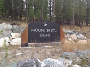 Beautiful Mount Royal Estates in Cranbrook BC