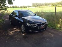 24/7 Trade sales NI Trade Prices for the public 2007 BMW 320 D SE Coupe Black motd July 18