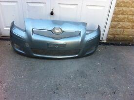 Genuine Toyota Yaris Front Bumper 2009-2010-