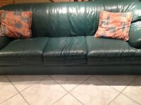 Leather Couches in Great Condition